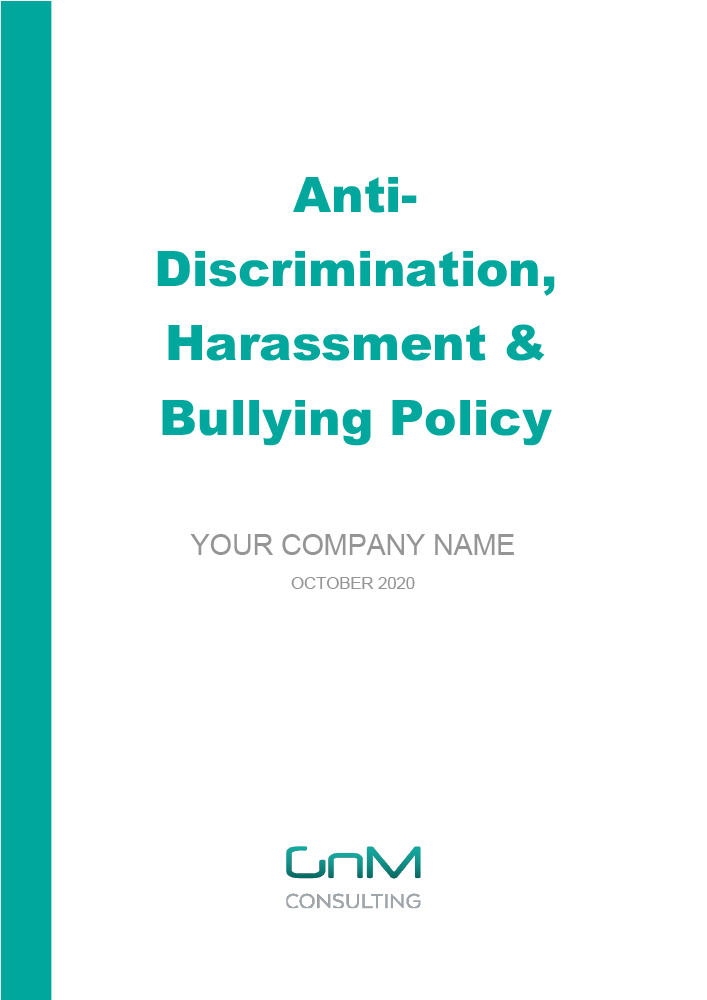 Anti-Discrimination, Harassment & Bullying Policy