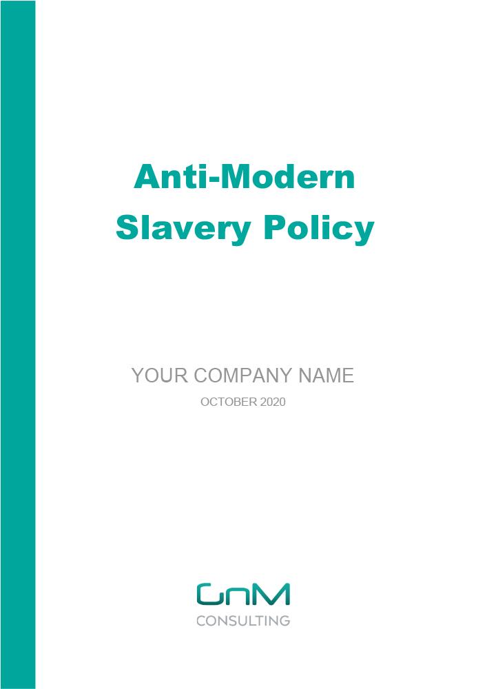 Anti-Modern Slavery Policy