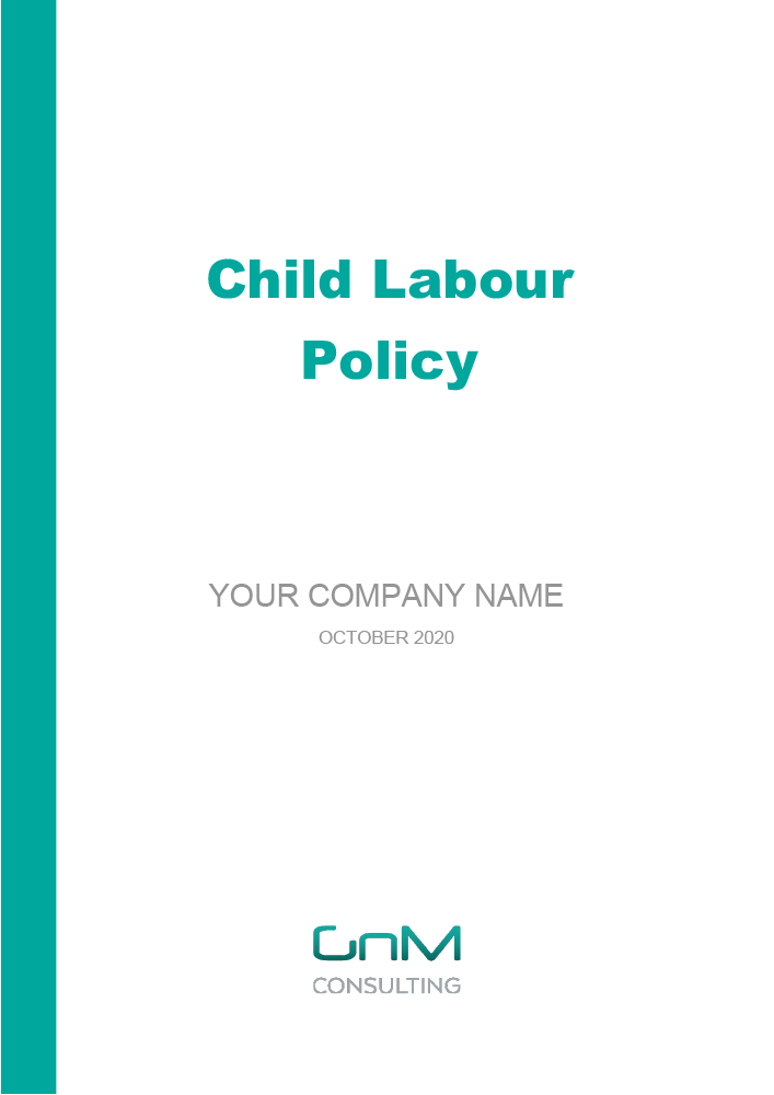Child Labour Policy