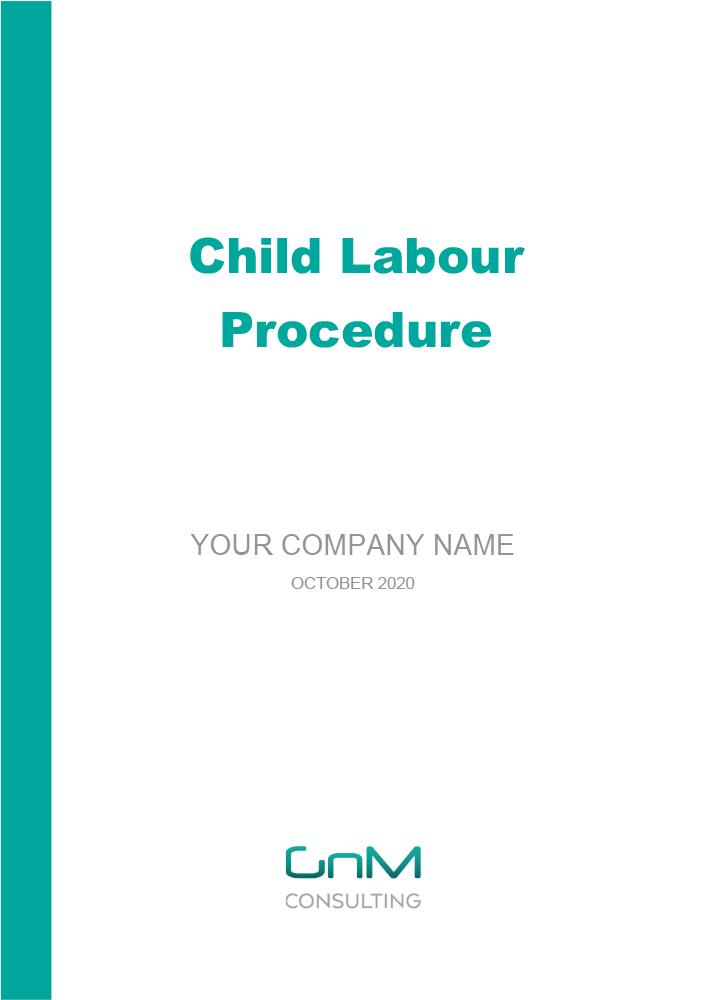 Child Labour Procedure