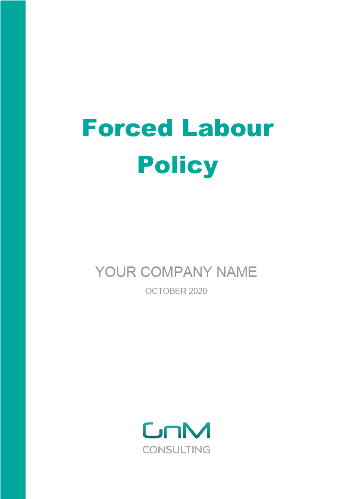 Forced Labour Policy