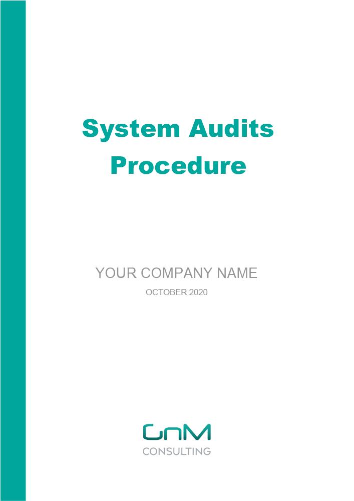 System Audits Procedure