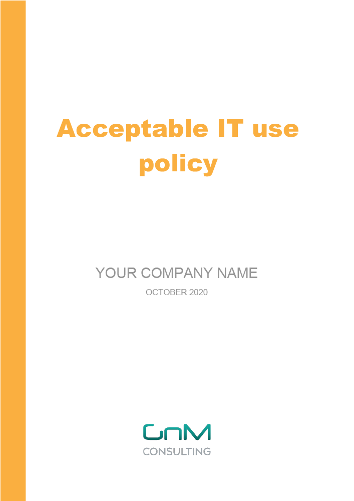 Acceptable IT Use Policy