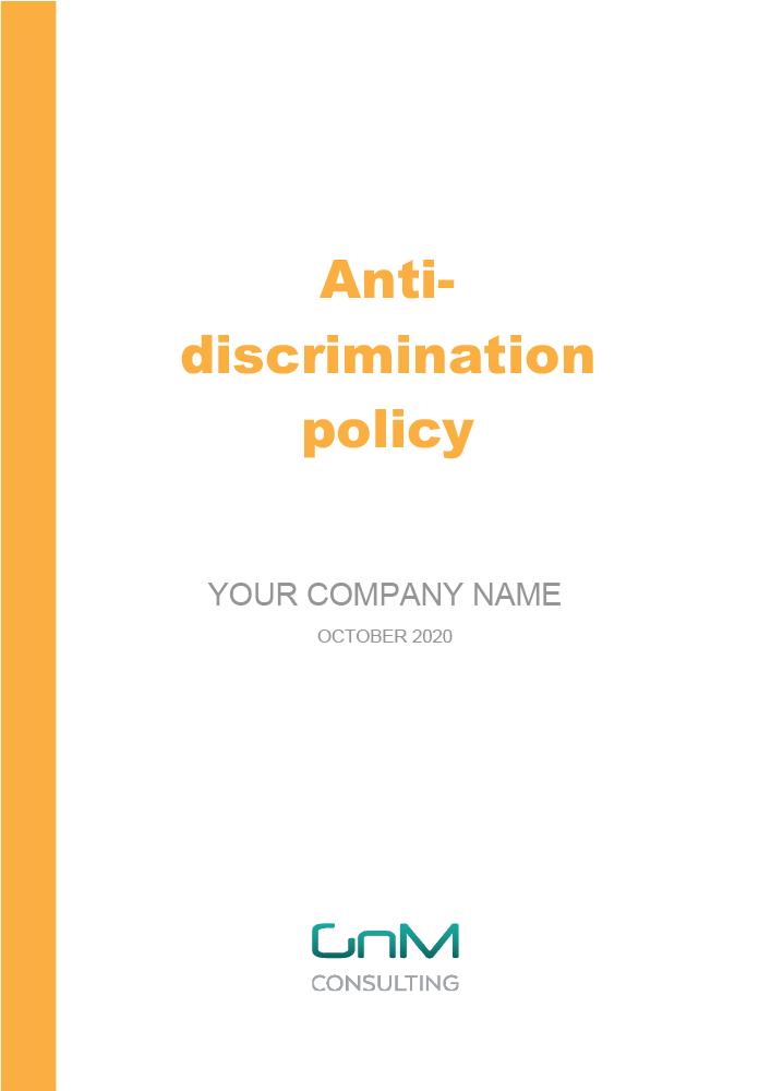 Anti-Discrimination Policy