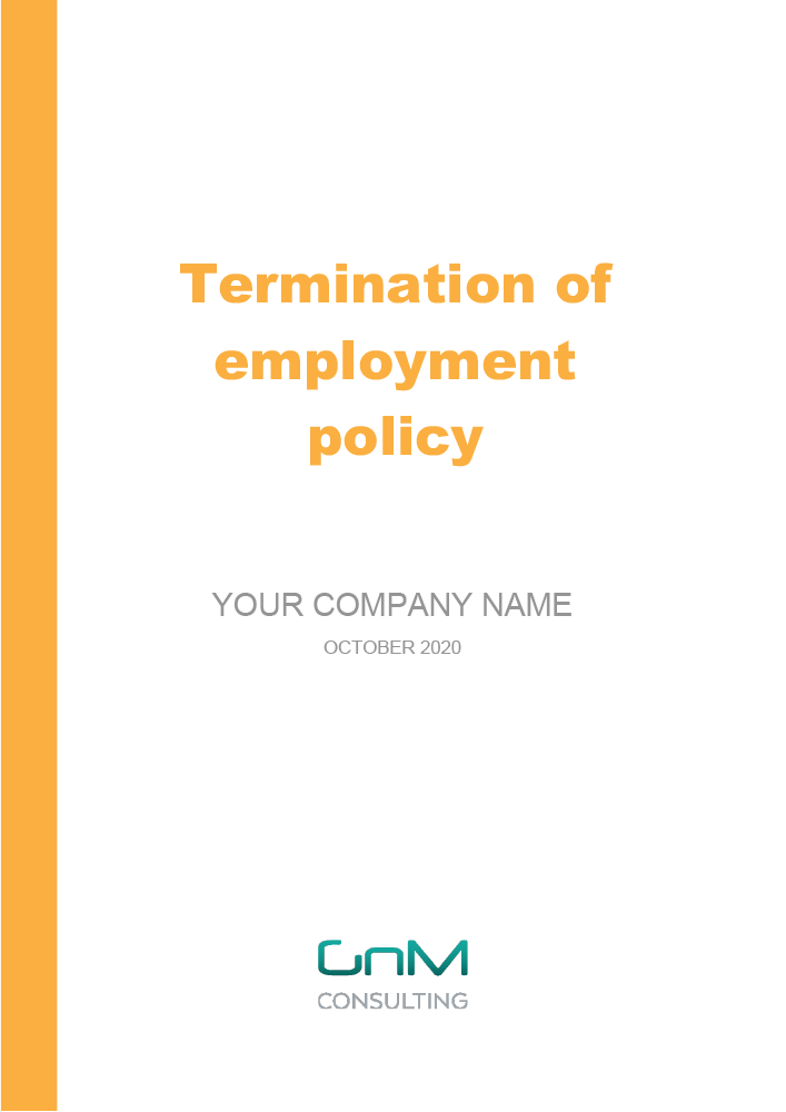 Termination of Employment Policy