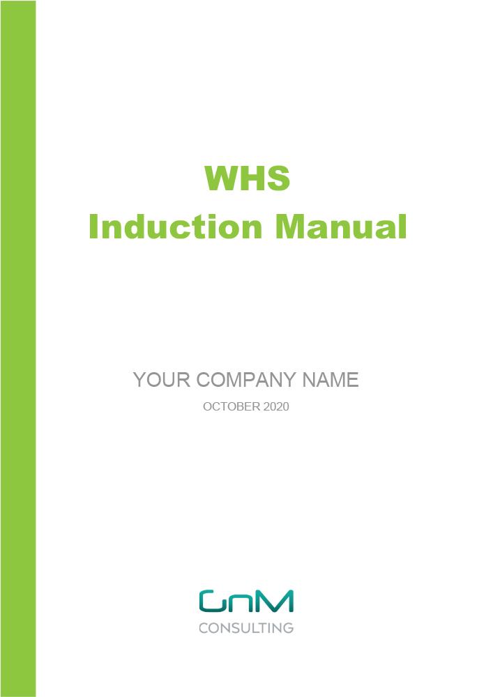 WHS Induction Manual (Staff Handbook)