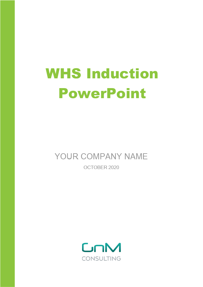 WHS Induction PowerPoint